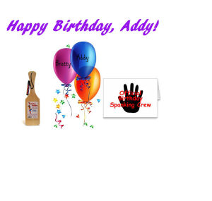 happy birthday addy!